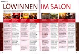Der WOMAN's Business Club in der Presse - Löwinnen im Salon - Vogue